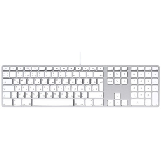 Apple Aluminum Keyboard