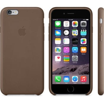 iPhone 6 Leather Case Brown